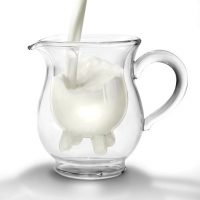 Calf and Half Creamer Pitcher with Udders