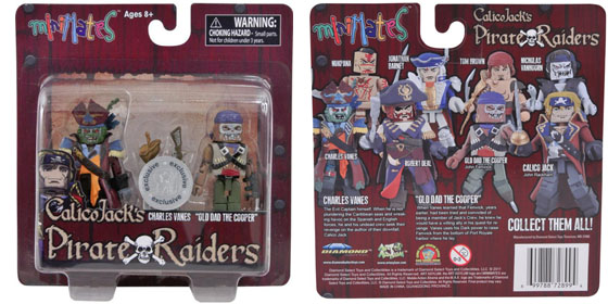 Calico Jacks Pirate Raiders Minimates Package front