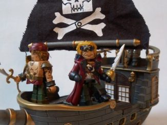 Calico Jacks Pirate Raiders Minimates Pirateship