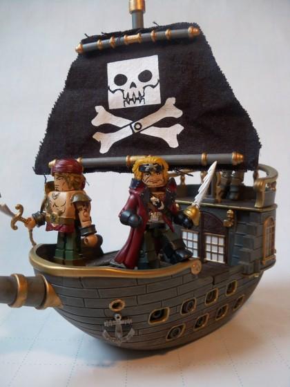 Calico Jacks Pirate Raiders Minimates Pirateship