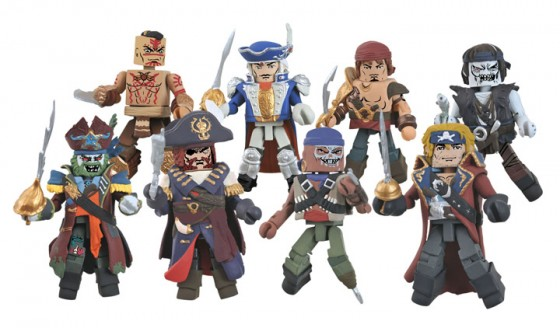 Calico Jacks Pirate Raiders Minimates