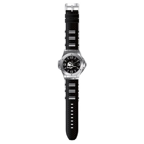 Call of Duty Silvertone Rubber Bullet Strap Watch