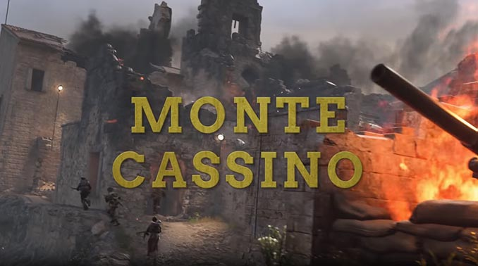 Call of Duty: WWII - United Front Monte Cassino Map
