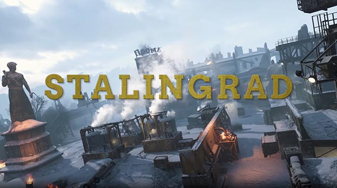Call of Duty: WWII - United Front Stalingrad Map