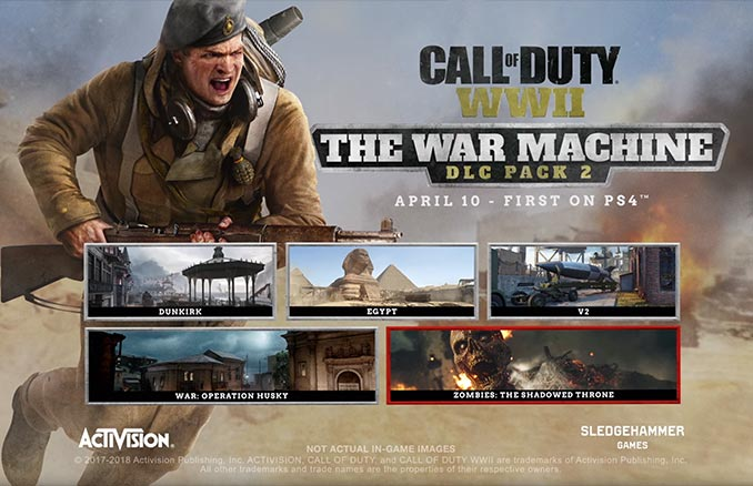 Call of Duty: WWII War Machine DLC 2