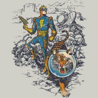 Calvin The Spiffy Spaceman T-Shirt