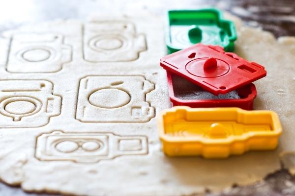 Camera Cookie Cutter Set