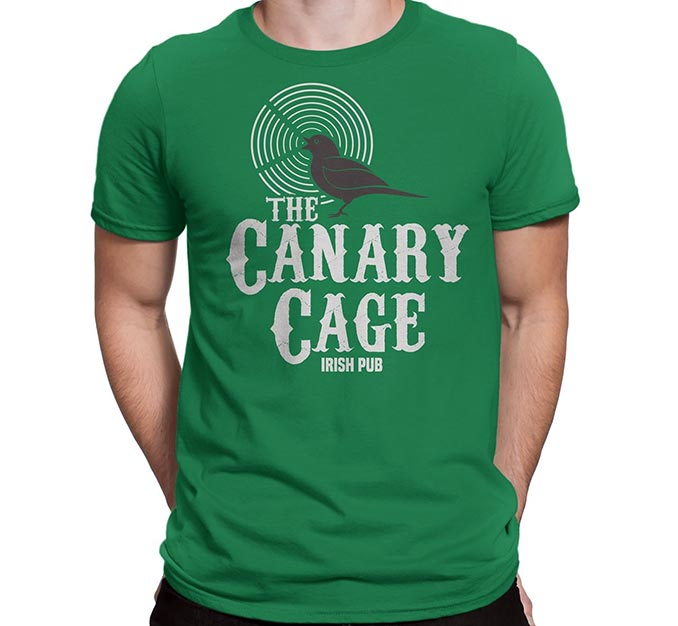 The Canary Cage Irish Pub T-Shirts