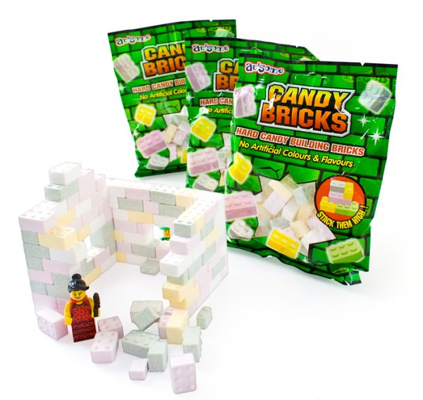 Candy Building Bricks