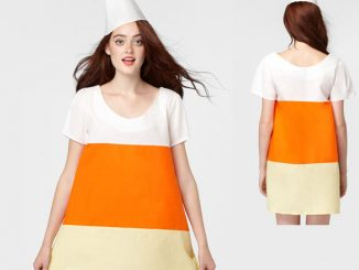 Candy corn dress