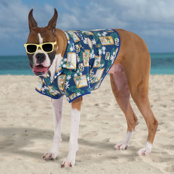 Canine Hawaiian Shirt