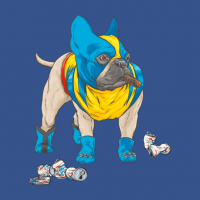 Canine Superhero Shirts - Bullverine