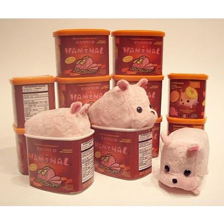 Canned Haminal Plush