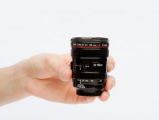 Canon EF 24-105mm lens Shot Glass