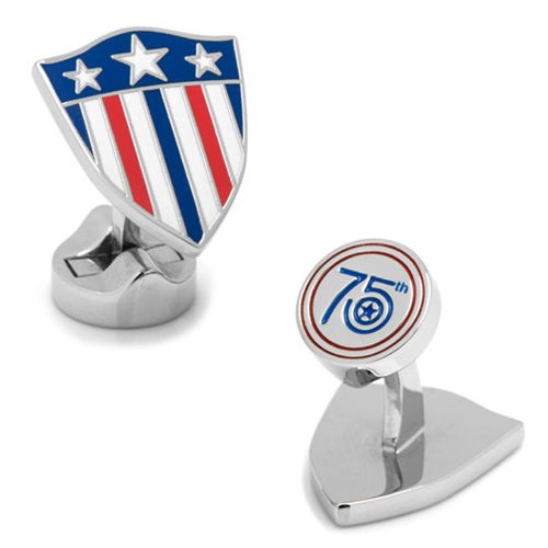 Captain America 75th Anniversary Cufflinks