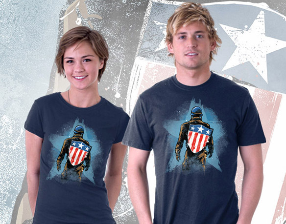 Captain America All-American T-Shirt