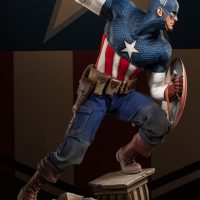 Captain America Allied Charge on Hydra Premium Format Figure Profile