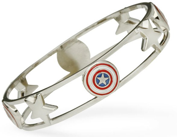 Captain America Bangle Bracelet