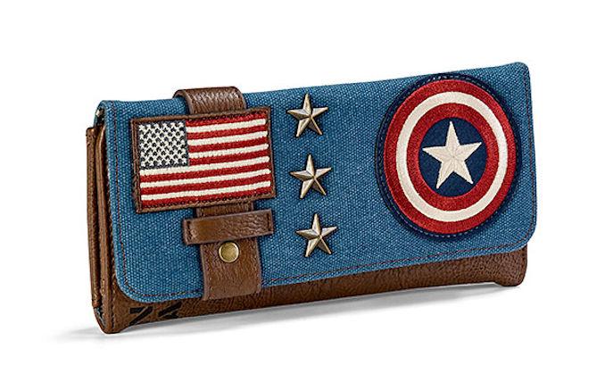 Captain America Canvas Wallet