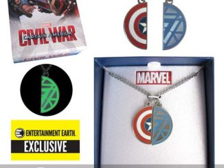 Captain America Civil War Best Friends Necklace Set