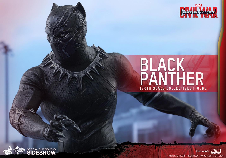 Captain America Civil War Black Panther Sixth Scale Figure