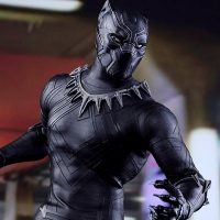 Captain America Civil War Black Panther Sixth-Scale Figure 12