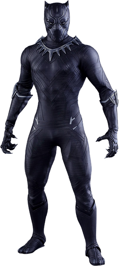 Captain America Civil War Black Panther Sixth-Scale Figure