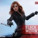 Captain America Civil War Black Widow Sixth-Scale Figure 6
