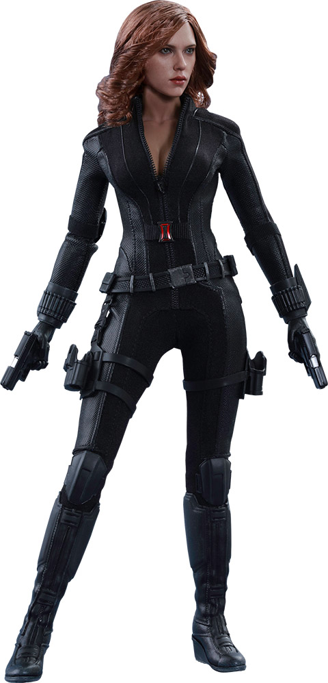 Captain America Civil War Black Widow Sixth-Scale Figure