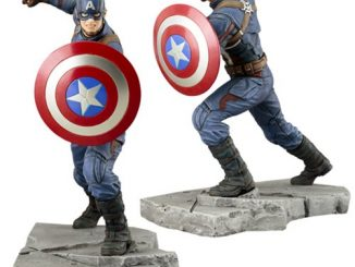 Captain America Civil War Captain America ArtFX+ Statue
