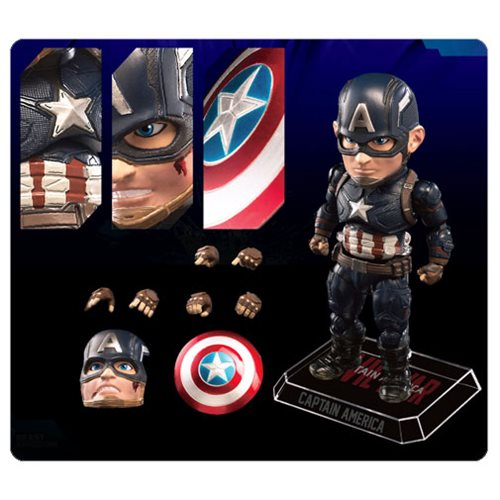 Captain America Civil War Captain America Egg Attack Action Figure