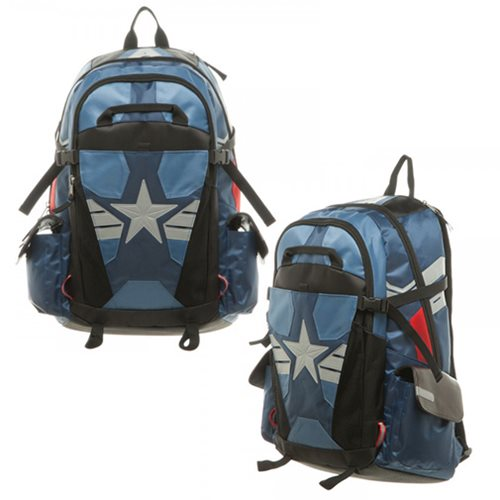 Captain America Civil War Captain America Laptop Backpack