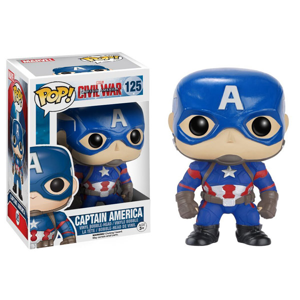 Captain America Civil War Captain America Pop Vinyl Figure