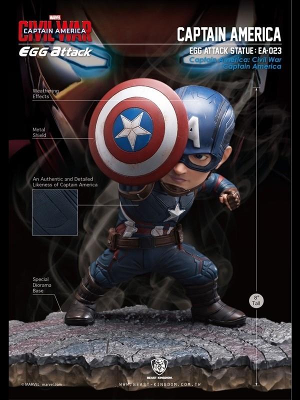 Captain America Civil War Captain America Vs Iron Man Egg