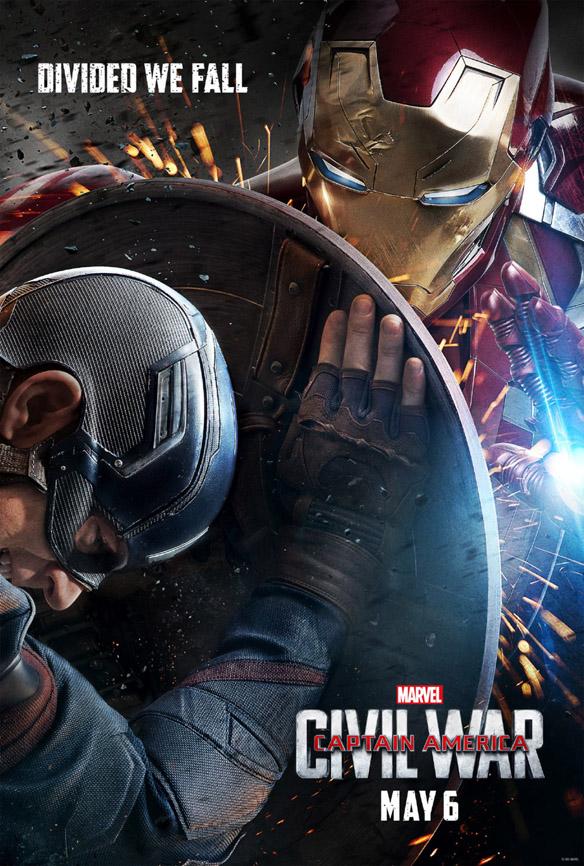 Captain America Civil War Divided We Fall Poster
