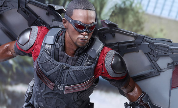 Captain America Civil War Falcon Sixth-Scale Figure