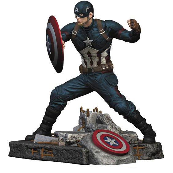 Captain America Civil War Finders Keypers Statue