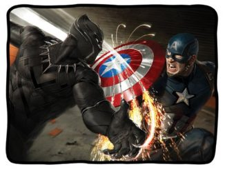 Captain America Civil War Fleece Blanket