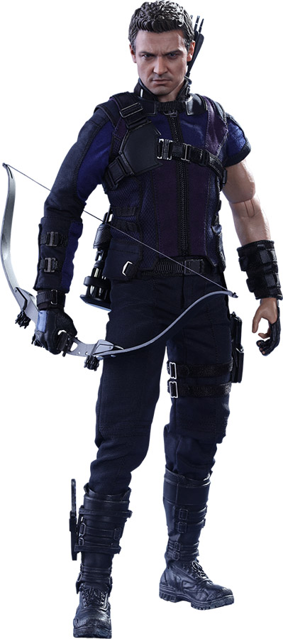 Captain America Civil War Hawkeye Sixth-Scale Figure