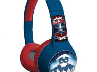 Captain America Civil War Light Up Youth Headphones