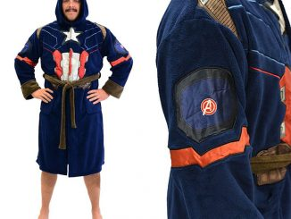 Captain America Civil War Mens Fleece Costume Robe