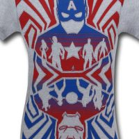 Captain America Civil War Opposing Forces T-Shirt 1