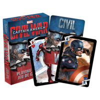 Captain America Civil War Playing Cards