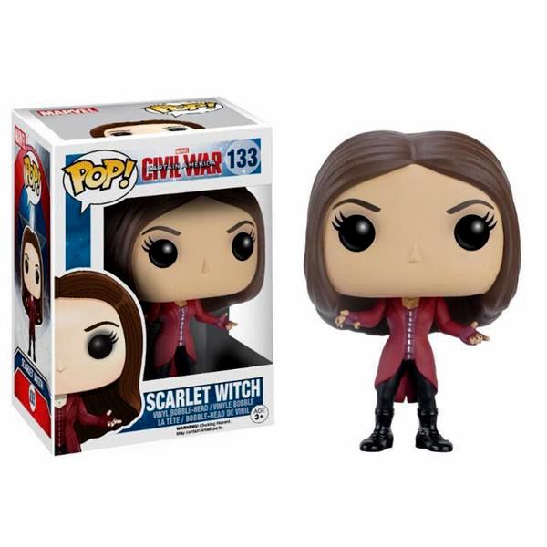 Captain America Civil War Scarlet Witch Pop Vinyl Figure
