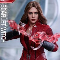 Captain America Civil War Scarlet Witch Sixth-Scale Figure 10