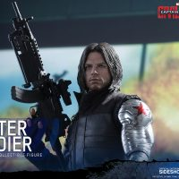 Captain America Civil War Winter Soldier Sixth-Scale Figure 3