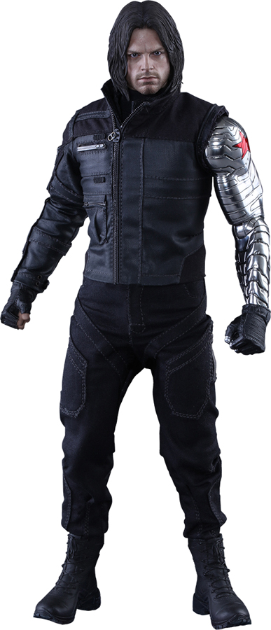 Captain America Civil War Winter Soldier Sixth-Scale Figure