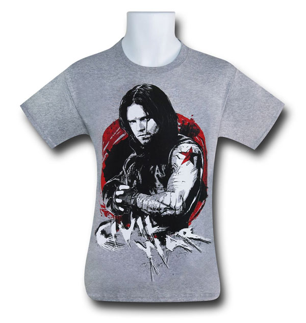 Captain America Civil War Winter Soldier Tee