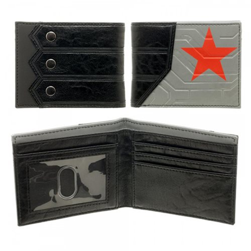 Captain America Civil War Winter Solider Bi-Fold Wallet