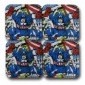 Captain America Coaster Set